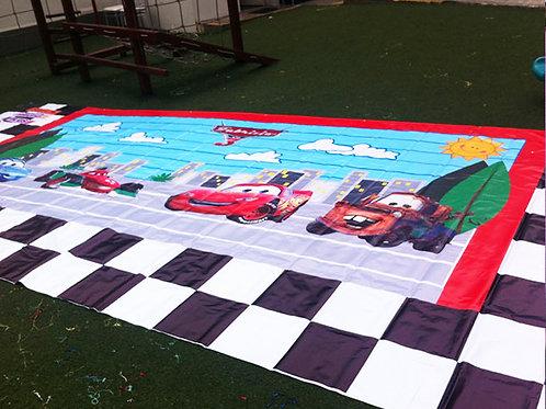 Banner impreso infantil