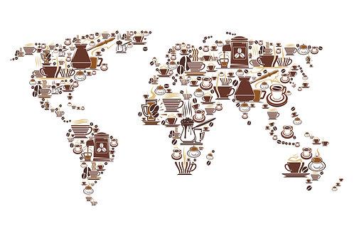 Mapa de cafe