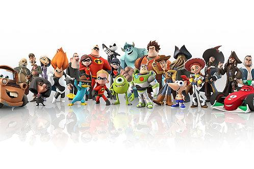 Fotomural héroes Pixar