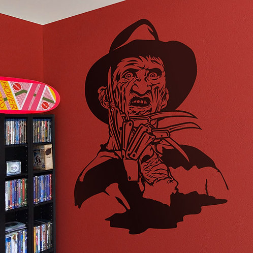 Vinilo decorativo Freddy Krueger