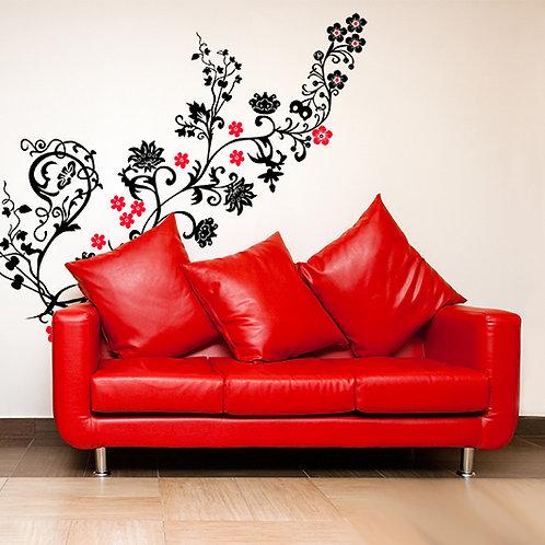 vinilo decorativo floral Parsley multicolor