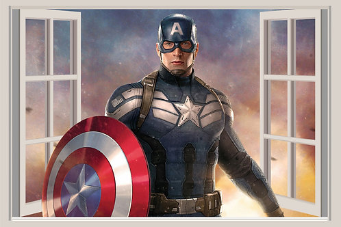 Ventana Capitán América