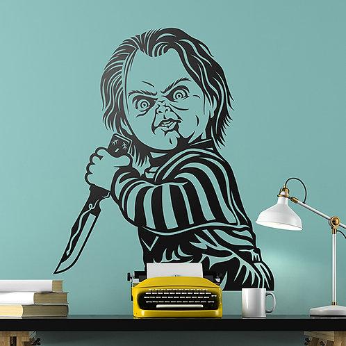 Vinilo decorativo Chucky El muñeco diabólico