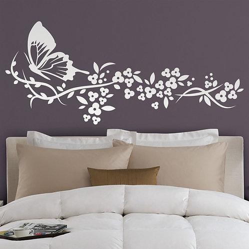 Vinilo decorativo Floral Linum