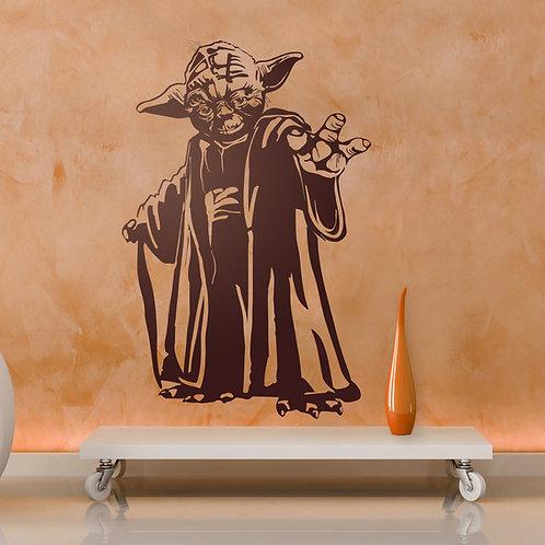 Vinilo Maestro Yoda