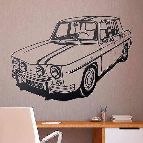 Vinilo decorativo Renault 8