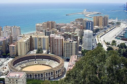 Fotomural Plaza de toros Malaga