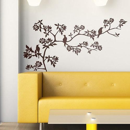 Vinilo decorativo Rama de un árbol en primavera