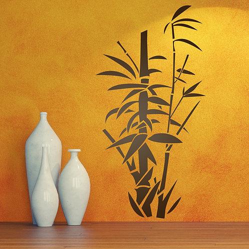 Vinilo decorativo Floral Cañas de bambú