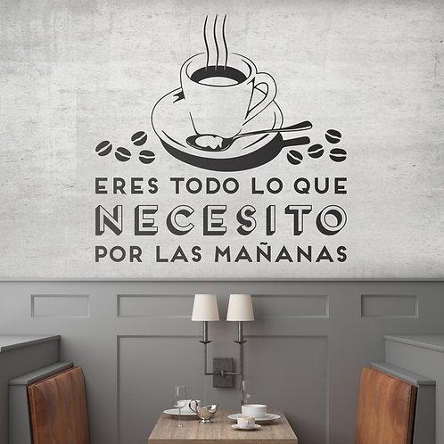 Eres todo lo que necesito por las mañanas