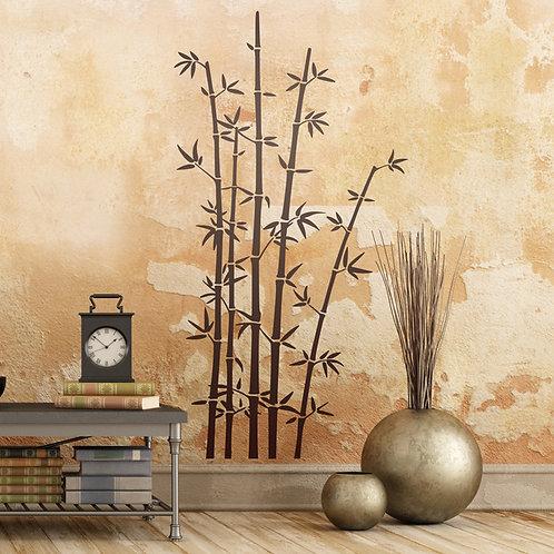 Vinilo decorativo Cañas de Bambú