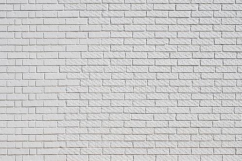 Ladrillos blancos pandereta