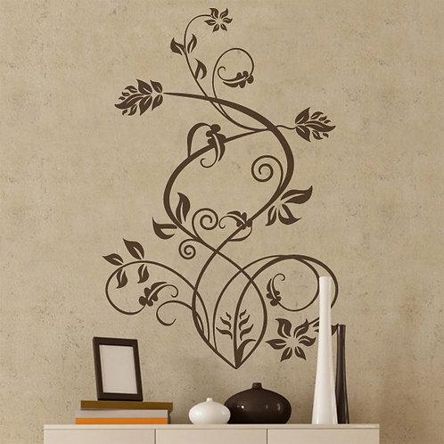 Vinilo decorativo floral Sura