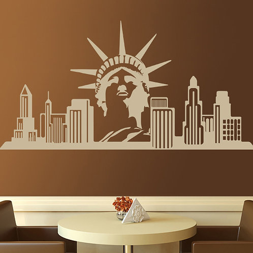 Vinilo New York Skyline