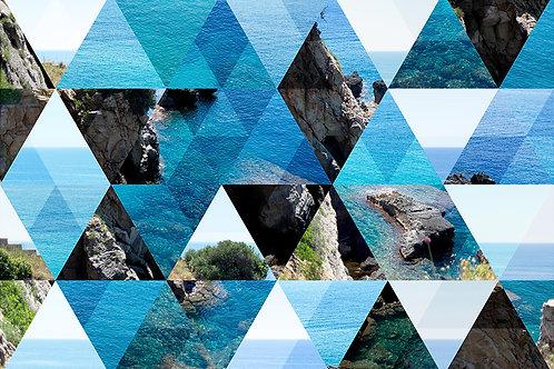 Fotomural textura abstracto.