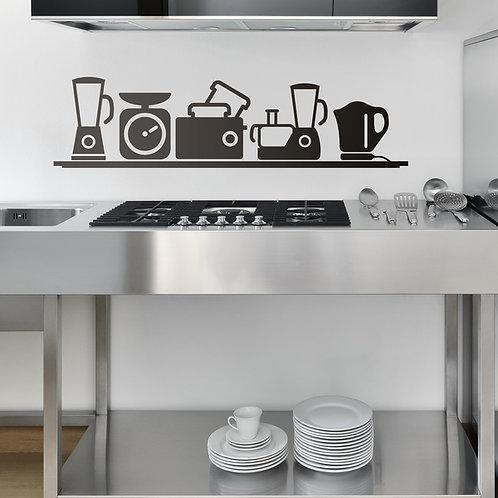 Vinilo decorativo para cocina pequeños electrodomésticos