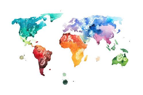 Mapa de colores
