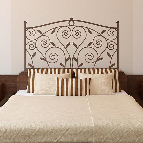 Vinilo cabecero de cama Classic