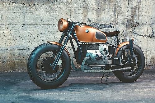 Moto antigua vintage