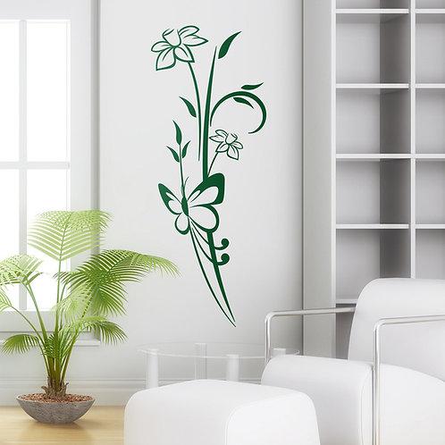 Vinilo decorativo Floral Atenea