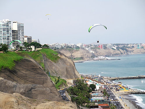 Fotomural Playa Lima - Perú