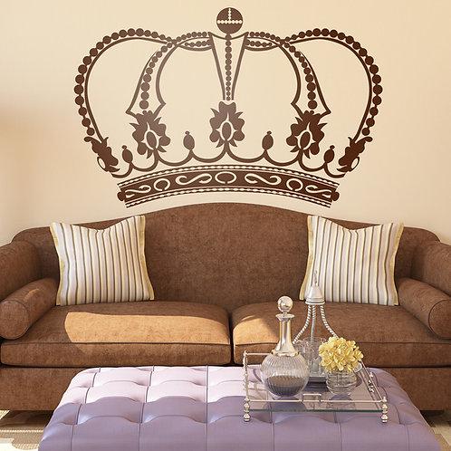 Vinilo decorativo Corona