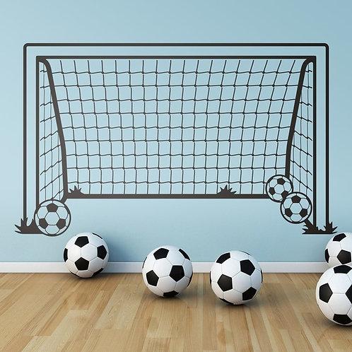 Vinilo decorativo infantil Portería de fútbol