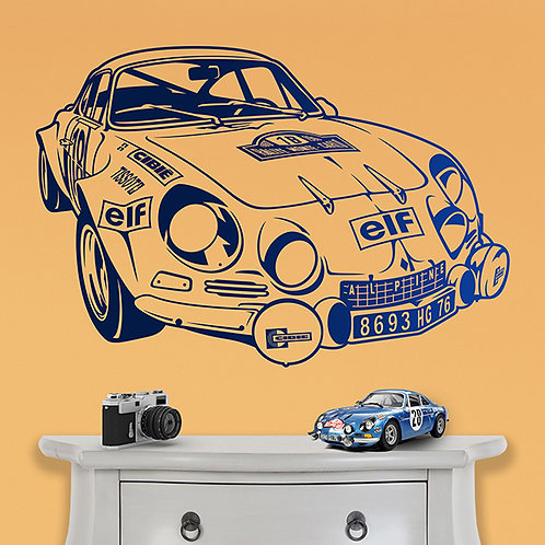 Vinilo decorativo Alpine A110