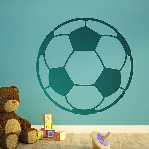 Vinilo decorativo infantil balón de fútbol