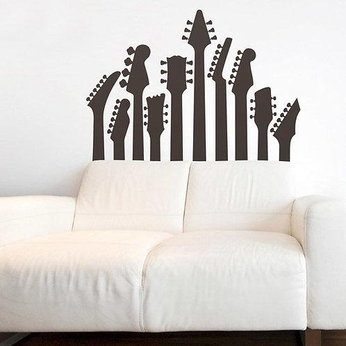 Vinilo decorativo Mástiles de guitarra