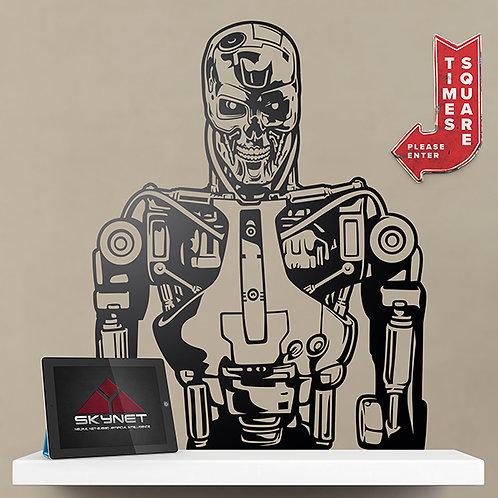 Vinilo decorativo Terminator T-800