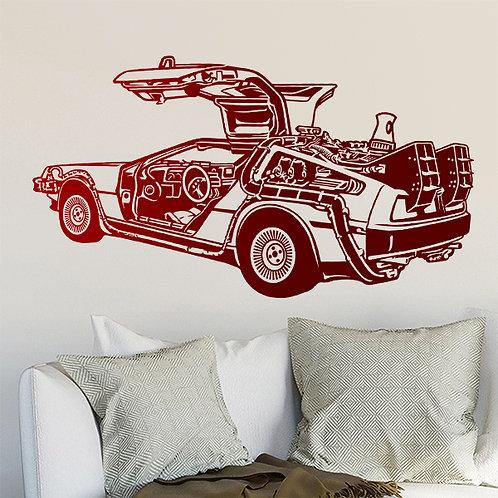 Vinilo decorativo DeLorean