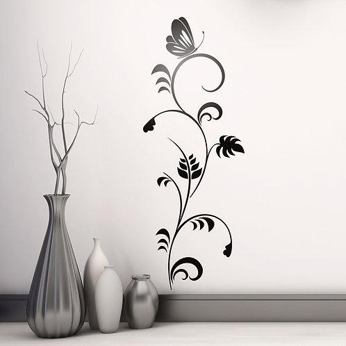 Vinilo decorativo Floral Uadyet