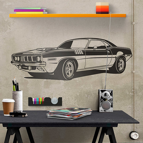 Vinilo decorativo Ford Mustang Muscle Car