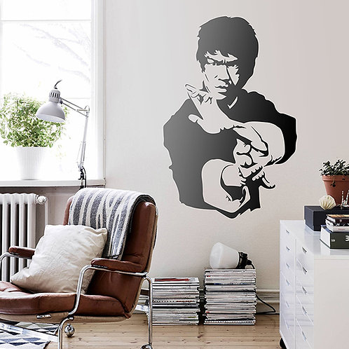 Vinilo decorativo Maestro Bruce Lee