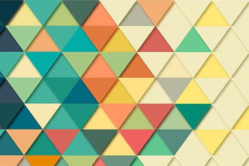 Triangulo de colores