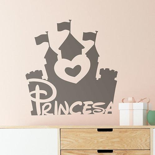 Vinilo decorativo infantil De Mayor...Princesa