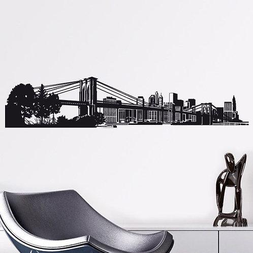Vinilo decorativo Skyline de Nueva York