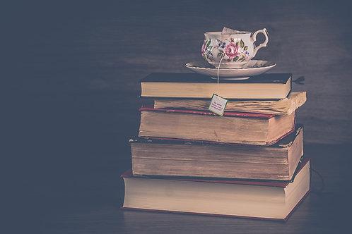 Fotomural libros vintage