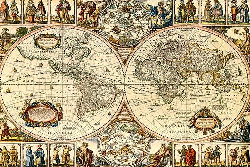 Mapa vintage 004