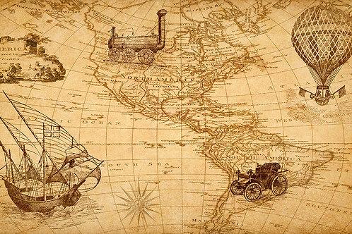 Mapa vintage 002