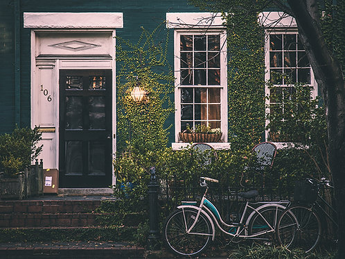 Fotomural bicicleta vintage