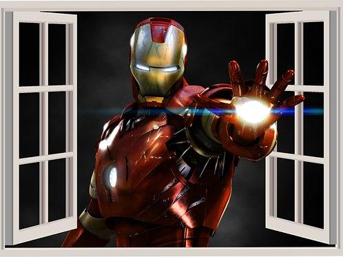 Ventana Iron Man