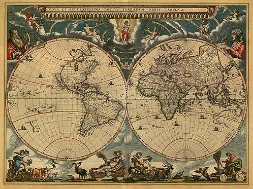 Mapa vintage 003