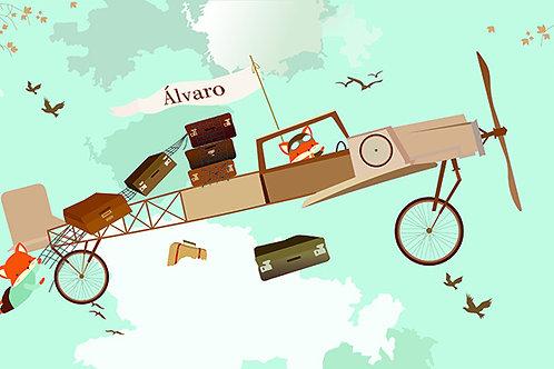Fotomural Avión