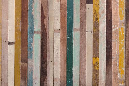 Textura madera de colores