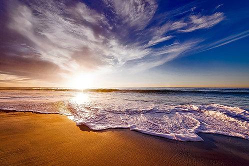 Fotomural orilla de playa