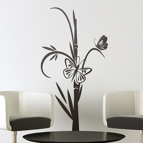 Vinilo decorativo Floral Shibataea