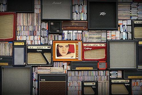 Fotomural vintage cassette