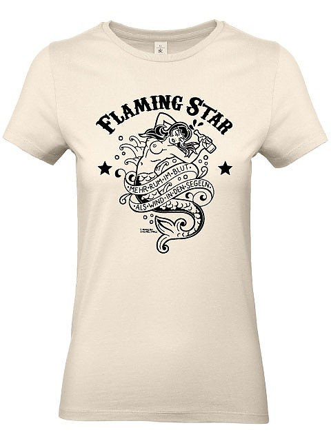 Flaming Star Rum im Blut, beige